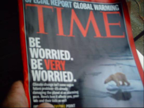 Time Magazine Global Warming Cover