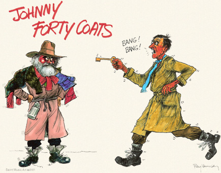 Forty Coats and Bang Bang